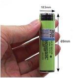 Oplaadbare NCR18650B Li-ion Batterij / Accu 3400mAh PCB beschermd - PANASONIC_28