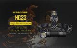 NITECORE HC33 Hoofdlamp / Handlamp_11