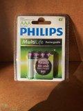 Philips Oplaadbare R03 batterijen AAA 800mAh - 1.2V_11