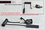 Sunwayman AP02 Kabelschakelaar / Snoerschakelaar voor lampen_11