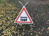 "Gevarendriehoek ""Vorsicht Jagd"" _28"