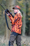 Shooterking - Digitex Softshell Jas Blaze/Bruin (dames)_28