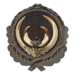 Eikenblad brons