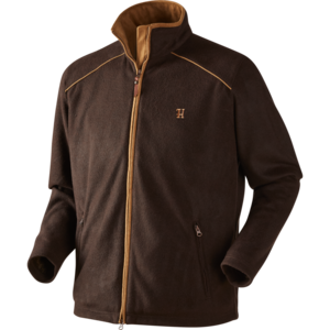 Härkila Sandhem fleece jacket - Dark port melange