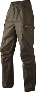 Härkila Dain trousers - Hunting green / Slate brown