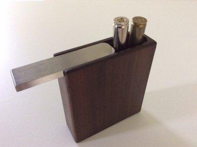 kogelpatronen houten box 5 Kogelpatronen