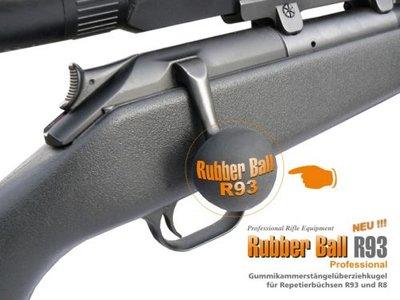 R93 & R8 Speed Rubber Grendelknop