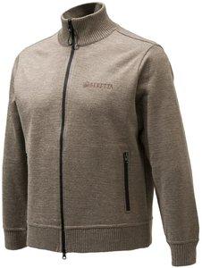 BERETTA Vest - Technowindshield Long Zip Swea Haselnut