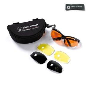 Deerhunter Schietbril / Zonnebril met Verwisselbare Glazen