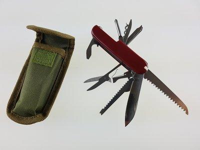 Multifunctioneel Zakmes 11 gereedschappen JKR131