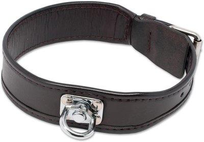 Leder Halsband met Draai-oog voor Zweet werk & Dagelijks gebruik