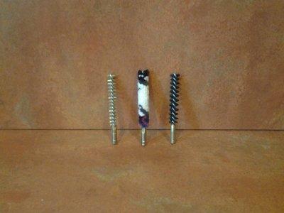 Geweer poetsborstels Cal. 22/5,6mm, 6mm, 6,5mm, 7mm, 7,5mm