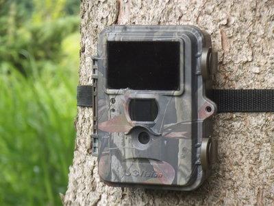 Bewakingscamera UV565 HD 12MP  Black 60x No Glow Led's