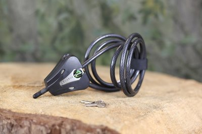 Stevig Kabelslot met 2 sleutels