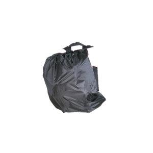 Lokvogel rugzak zwart fijnmazig 60x70cm