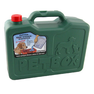 Petbox Voer- & Water-kanister
