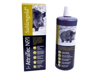 AttraTec No 1 varkens Suhlengold  lokmiddel (Beukenhoutteer)