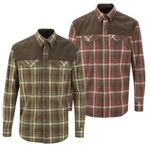 Shooterking Outdoor hemd rood/bruin  ANTI TEEK