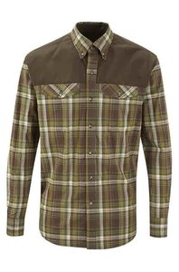 Shooterking Outdoor hemd groen/bruin  ANTI TEEK