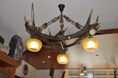 Hanglamp Edelhert driehoek 3 lampen