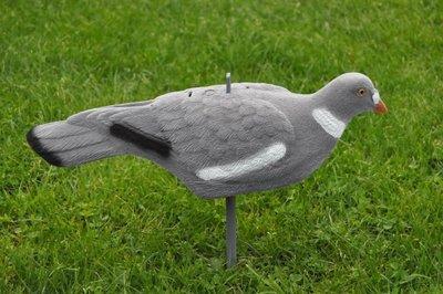 Stapelbare geflockte duif