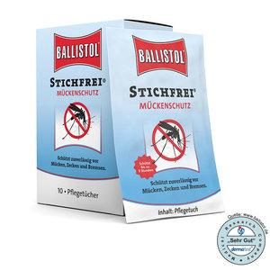 Muggen doekjes / Stichfrei (Ballistol)