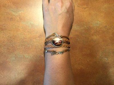 Armband met paarden motief
