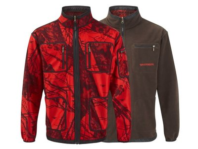 Mossy Blaze Softshell (dames) Red/Brown
