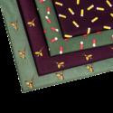 Zakdoeken-4-st.-in-Patronen-&-Fazant
