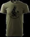 Waidmann-T-Shirt-Naturel-Groen-Logo