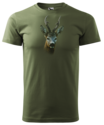 Ree-T-Shirt-Donker-Groen-Logo-met-kleur
