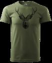 Hert-T-Shirt-Groen-Logo