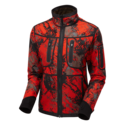 SHOOTERKING-Forest-Mist-Softshell-Dames-Camouflage-RED-Willow-Green
