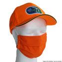 Mondmasker-Neusmasker-Oranje