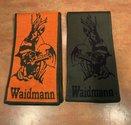 Omkeerbare-Sjaal-Groen-Oranje-Waidmann