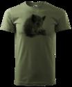 Wild-Zwijn-T-Shirt-Groen-Logo1
