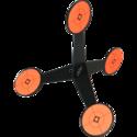 Chukka-Vrijstaand-Multipoint-Target