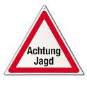 Gevarendriehoek-Achtung-Jagd