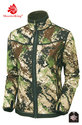 Shooterking-Digitex-Softshell-Jas-Groen-Bruin-(dames)