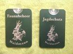 Auto-raam-plaatje-Faunabeheer-Jagdschutz